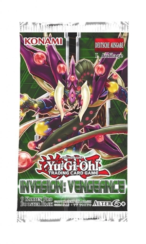 Yu-Gi-Oh! - Invasion Vengeance, Booster Pack