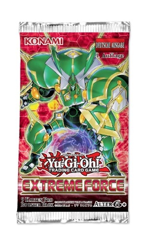 YGO -Extreme Force - Booster DE