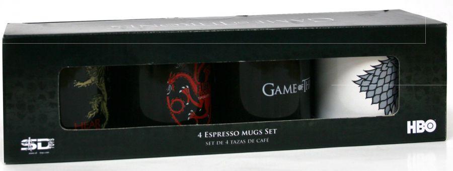 game of thrones espresso tassen set trading goblin. Black Bedroom Furniture Sets. Home Design Ideas