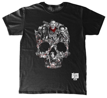 The Walking Dead - Skull Montage, T-Shirt