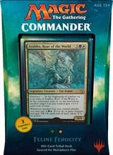 Magic - Feline Ferocity , Commander 2017 EN