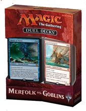 MTG - Meerfolk vs Goblins, Dual Deck