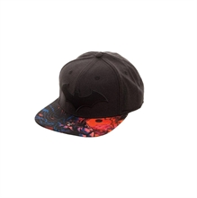 DC Comics - Batman Sublimated Bill, Hip Hop Cap