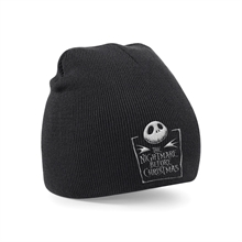 Nightmare before Christmas - Logo, Beanie
