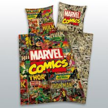 Marvel - Comics Cover, Bettwäsche