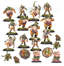 Warhammer Blood Bowl - Nurgles Team
