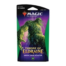MTG - Throne of Eldraine Theme Booster Green EN