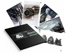 Alien Kunstdrucke 5er-Set 35 x 28 cm