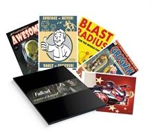 Fallout Kunstdrucke 5er-Set 35 x 28 cm