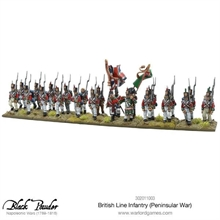 Black Powder - British Line Infantry (Peninsular War)