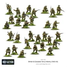 Bolt Action WW2 - British & Canadian Army